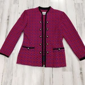 Vintage 80s 90s Clueless Blazer Removable Placket